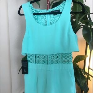 Guess by Marciano Lace Romper (Turquoise)